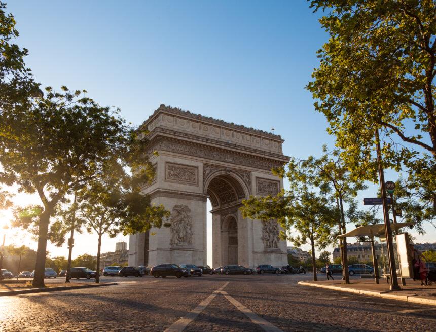 I 4 Archi di trionfo di Parigi